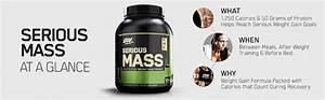 Optimum Nutrition Serious Mass Weight Gainer Protein Powder  Banana  5 44 Kg  Amazon Ca  Health