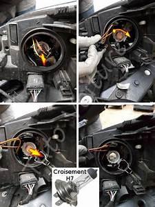 Ampoule Feu De Croisement Scenic 2 : ampoules avant d 39 une renault megane comment les changer tuto voiture ~ Medecine-chirurgie-esthetiques.com Avis de Voitures