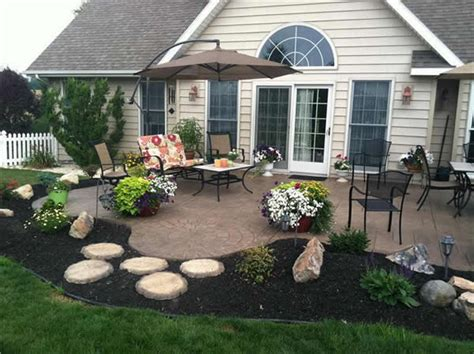 sted concrete patio houston backyard sted concrete patio ideas 4 design tips from