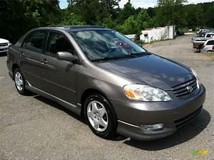 2003 Charcoal Gray Metallic Toyota Corolla S #64975343 ...