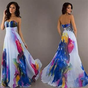 Women Summer Dresses Boho Maxi Long Evening Party Dress Beach Sundress Fashion   eBay