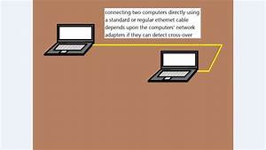 Network Tutorial  Connect Two Computers Using Standard