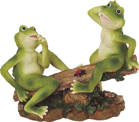 frog couple  seesaw gsc imports