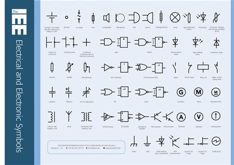 electrical and electronic symbols thingies electrical symbols electrical engineering