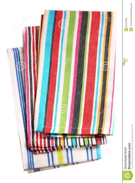 colorful kitchen towels colorful kitchen towels isolated on white background stock 2355