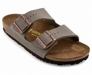 birkenstock arizona narrow fit sandal stone