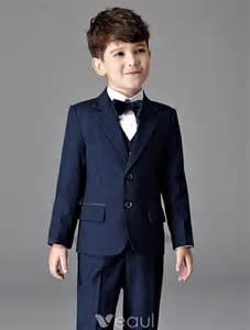 cheongsam wedding dress bleu marine costumes pour enfants garçons costumes de mariage 4 jeux 241602008 veaul
