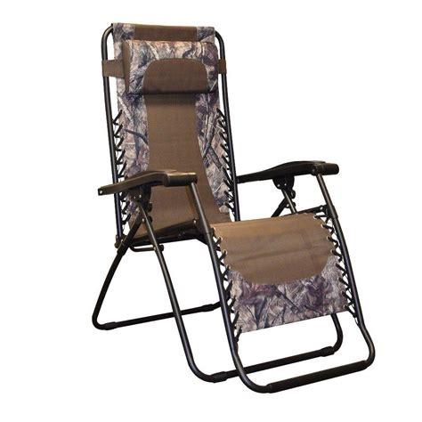 Infinity Zero Gravity Patio Chair by Caravan Sports Infinity Camo Zero Gravity Patio Chair