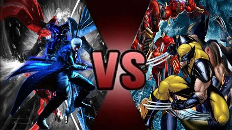 Vergil Vs Wolverine Youtube