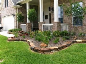 Stone Borders for Flower Beds
