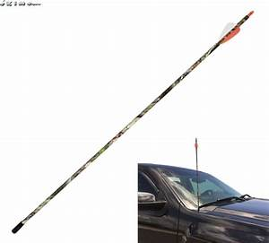 Camouflage Arrow Antenna Mast Doubletake Archery For Truck