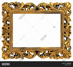 Picture Gold Frame Decorative Image & Photo | Bigstock