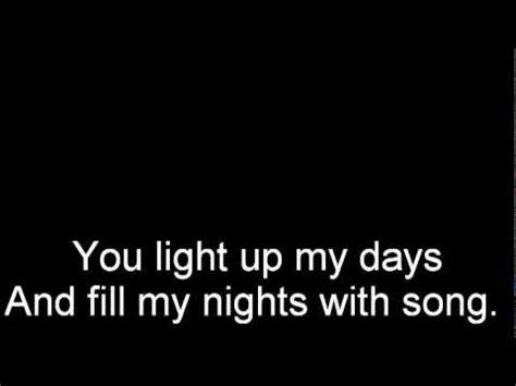 you light up my lyrics you light up my westlife lyrics
