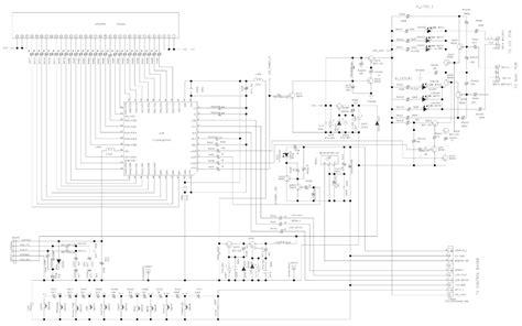 Electro Help Main Board Display Schematic