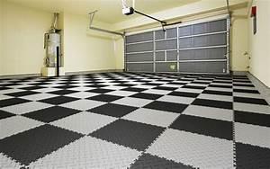 Rekonstrukce podlahy v garáži