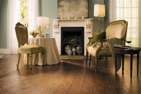 Country Rustic Hickory Planks Color