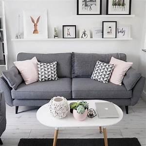 Weiß Graues Sofa : wohnzimmer dekor graues sofa dekor graues wohnzimmer ~ A.2002-acura-tl-radio.info Haus und Dekorationen