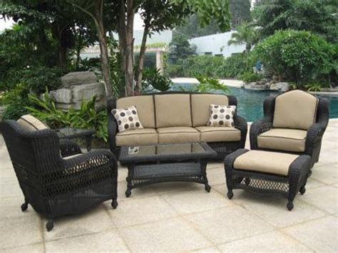 pvc wicker outdoor furniture fleur de lis outdoor
