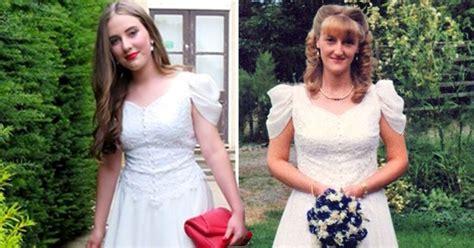 teen wore  mums  year  wedding dress  prom