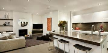 modern kitchen living room ideas living room kitchen open space design build ideas