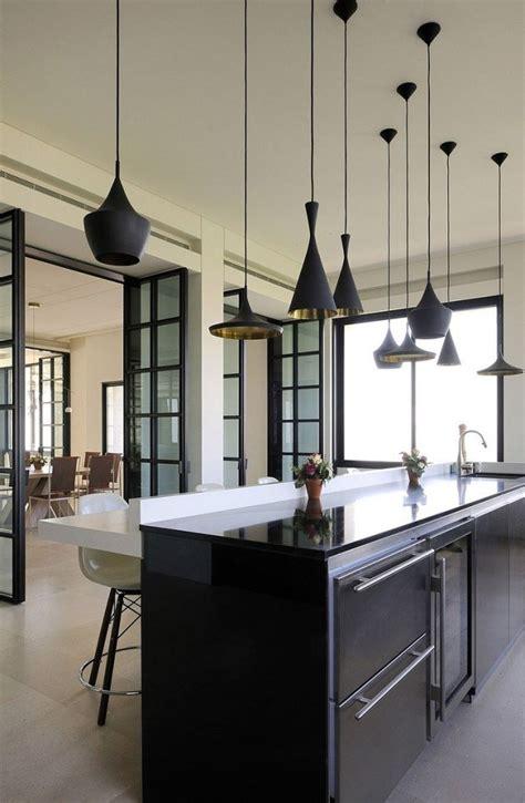 luminaire pour ilot central cuisine cuisine en image