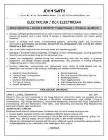 electrical contractor resume format electrician resume best template collection