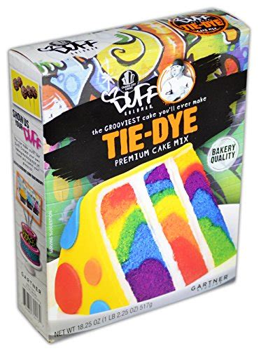 duff decorating mix cake tie dye buy   uae
