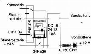 Transistor Berechnen : lademoeglichkeit der zusatzbatterie durch lichtmaschine mit trenndiode und spannungswandler ~ Themetempest.com Abrechnung