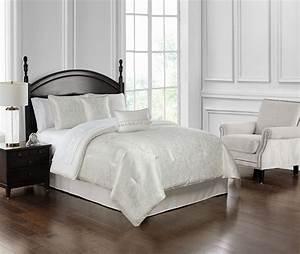Landon, White, By, Waterford, Luxury, Bedding