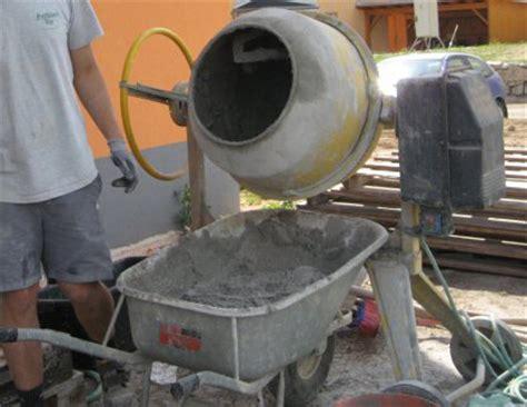 estrich beton mischungsverhaeltnis