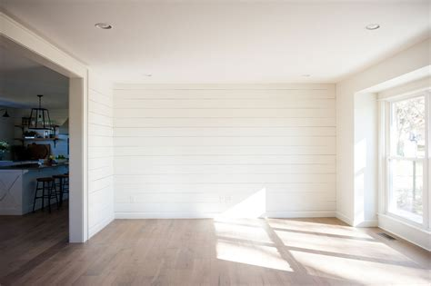 Shiplap Painted White by White Paint Colors 5 Favorites For Shiplap The House
