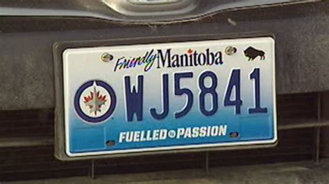 Modification License Winnipeg by Second Run Of Jets License Plates Will Be Available To