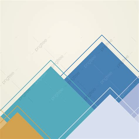 Abstract Minimal Shapes by Colorful Abstract Flat Background Minimal Geometric Shape
