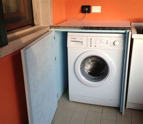 mobile lavatrice esterno mobile lavatrice in legno per esterno geppetto falegname