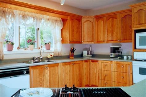 cleaning wood kitchen cabinets cleaning nicotine stains on wood cabinets thriftyfun