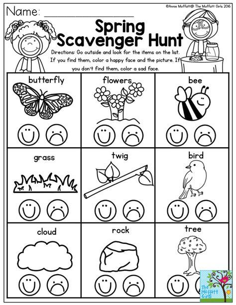 best 25 kindergarten scavenger hunt ideas on 764 | 009527da32866fe5603e06cae4744674 preschool spring scavenger hunt spring time preschool crafts