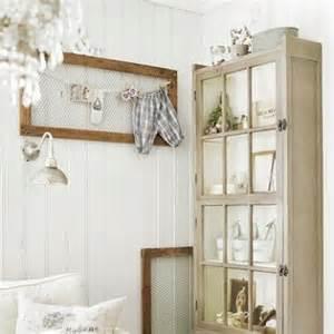 Old Window Frame Decorating Ideas