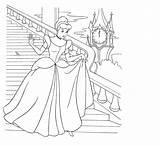 Coloring Parasail Cinderella Template Sketch sketch template