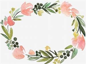 Floral Border Label Label Clipart Creative Flowers