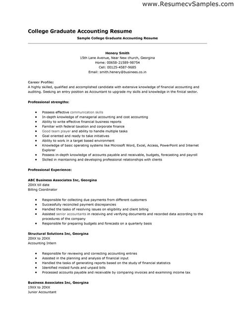 resume for an accountant accounting resume skills jobsxs com