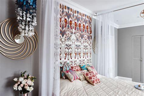amazing contemporary bedroom  oriental spirit ikat