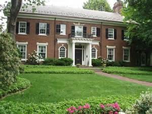 Brick, Colonial, Home, Photos