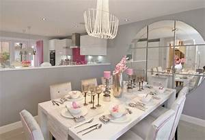amenager une cuisine ouverte sur salle a manger With tres grande table salle a manger pour petite cuisine Équipée