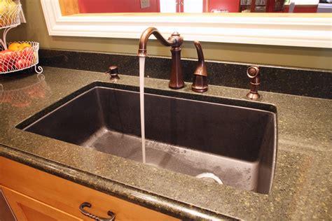 granite kitchen sinks composite granite kitchen sink trendyexaminer
