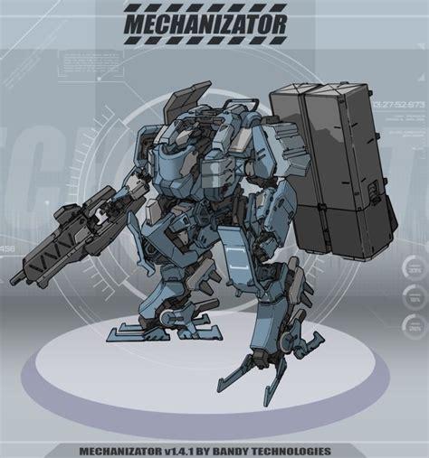 Mechanizator | CGTrader