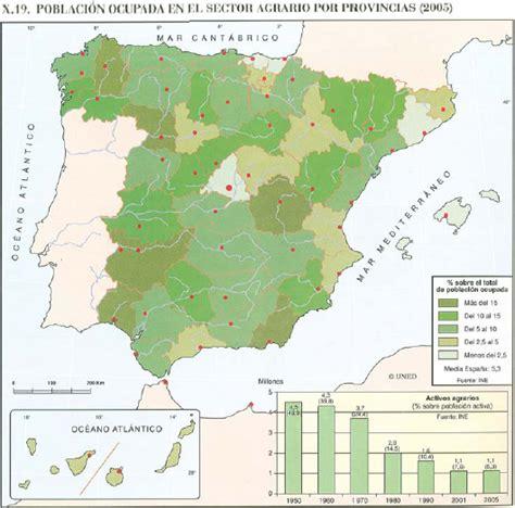 resumen tema 5 de geograf 205 a los espacios sector primario 2 186 bachilleraro