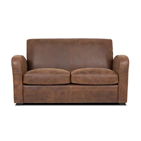 alinea canapé cuir canapes fixes mobilier de salon et canapes fixes alin 233 a