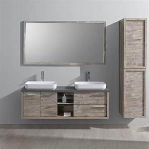 Meuble Salle De Bain 30 Cm : meuble salle de bain pla a 150 cm d 39 inspiration nordique ~ Melissatoandfro.com Idées de Décoration