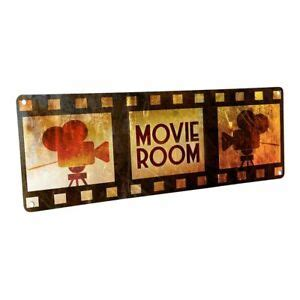 Check out our cinema wall decor selection for the very best in unique or custom, handmade pieces from our signs shops. Movie Room Metal Sign; Wall Decor for Home Theater or ...