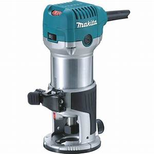Makita 1-1/4 HP Compact Router-RT0701C - The Home Depot